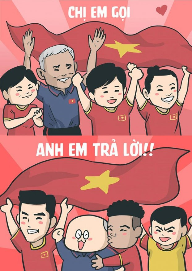 Loạt ảnh chế HLV Park Hang Seo và U22 Việt Nam đang gây 'bão' mạng - ảnh 15