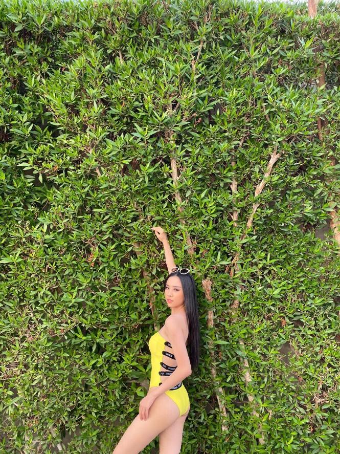Á hậu Thúy An phô diễn vẻ đẹp khó cưỡng khi diện bikini tại Miss Intercontinenta - ảnh 7