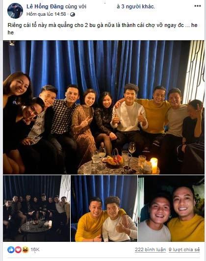 Hồng Đăng tung ảnh chụp với Quang Hải khiến fan tò mò về quan hệ hai người - ảnh 1