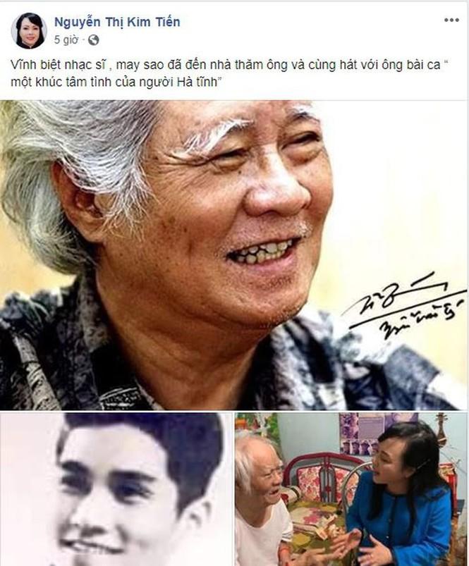 Xúc động đoạn song ca giữa nhạc sĩ Nguyễn Văn Tí và cựu Bộ trưởng Y tế - ảnh 1