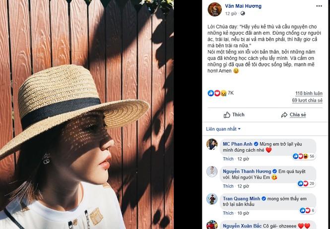 Văn Mai Hương lần đầu lên tiếng sau khi bị tung clip nhạy cảm  - ảnh 1