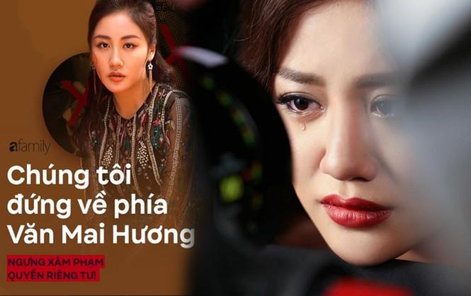 Văn Mai Hương lần đầu lên tiếng sau khi bị tung clip nhạy cảm  - ảnh 3