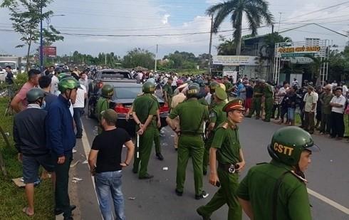 Truy tố nhóm giang hồ bao vây xe chở cán bộ Công an Đồng Nai - ảnh 3