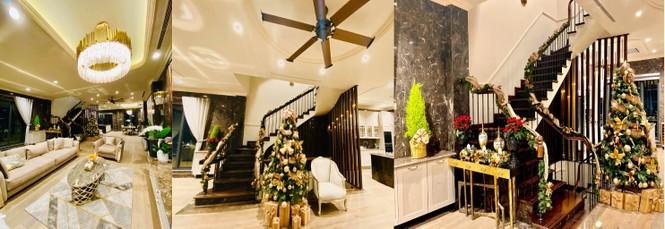 Ngây ngất ngắm biệt thự sang trọng tràn ngập không khí Giáng sinh của Lã Thanh Huyền  - ảnh 2