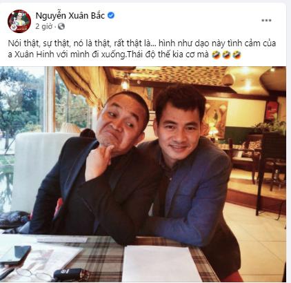 NSƯT Xuân Bắc dí dỏm chia sẻ về 'vua hài đất Bắc' Xuân Hinh - ảnh 1