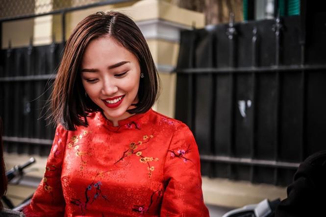 Tóc Tiên mê Tết Bắc, phải lòng ẩm thực Hà Nội khi làm dâu nhà Hoàng Touliver - ảnh 1