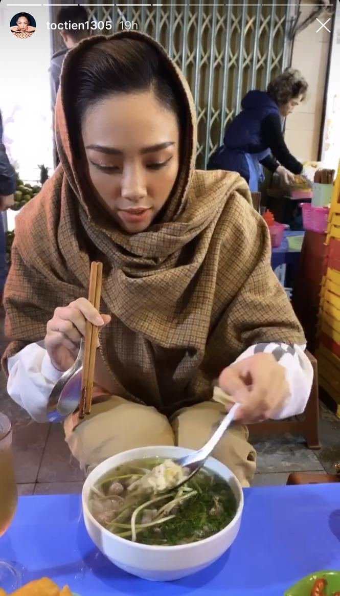 Tóc Tiên mê Tết Bắc, phải lòng ẩm thực Hà Nội khi làm dâu nhà Hoàng Touliver - ảnh 4