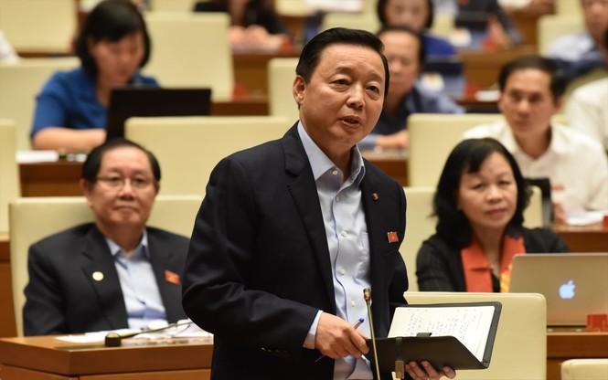 Chất vấn tại Quốc hội: Gay gắt về thủy điện và chất lượng rừng - ảnh 2
