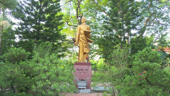 Quanh dư luận xây đền thờ Nguyễn Trãi: Không xây mới, chỉ mở rộng - ảnh 1