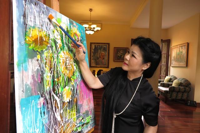 'Nàng thơ' trong tranh Bùi Xuân Phái - ảnh 1