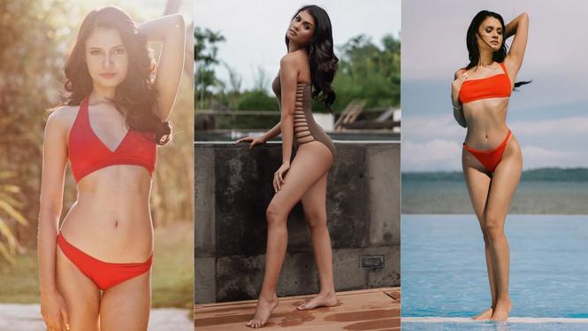 Nhan sắc ngọt ngào, quyến rũ của người đẹp lai đăng quang Hoa hậu Hoàn vũ Philippines - ảnh 5