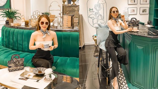 Hai nàng hậu Tiểu Vy, Kỳ Duyên 'đọ dáng' với váy đen bó sát - ảnh 7