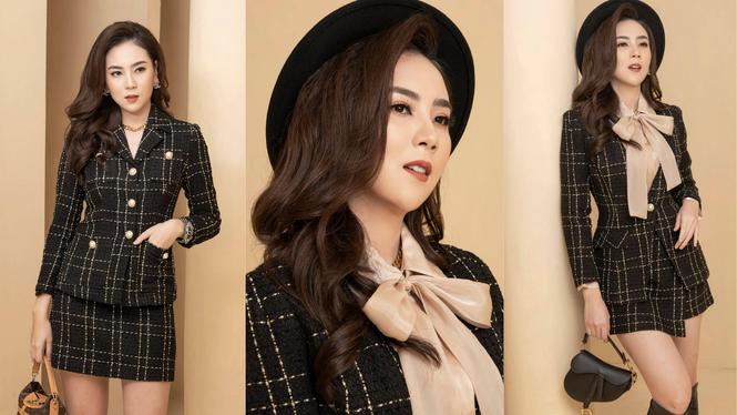Hai nàng hậu Tiểu Vy, Kỳ Duyên 'đọ dáng' với váy đen bó sát - ảnh 3