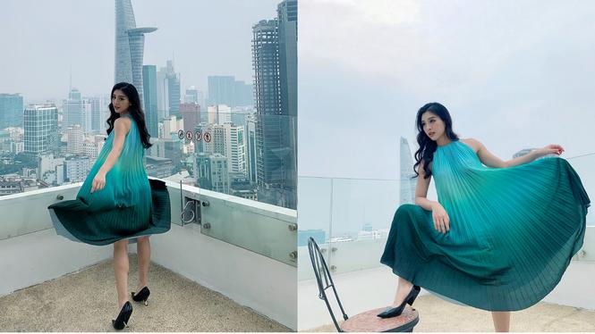 Diễm My 6x trẻ trung sành điệu, Hà Tăng đẹp như fashionista - ảnh 3
