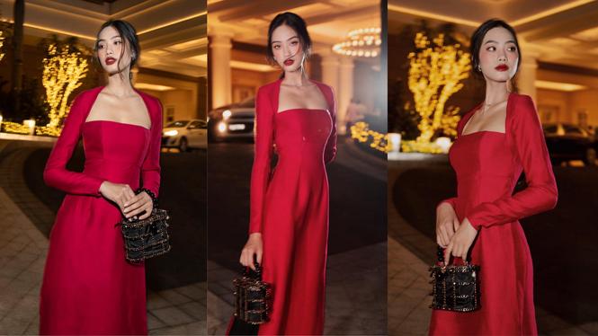 Dàn hoa á hậu, sao Việt 'lên đồ' sexy nóng bỏng đón năm mới 2021 - ảnh 8