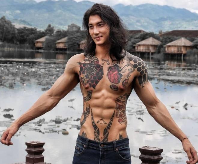 Mỹ nam được mệnh danh 'Aquaman châu Á' bất ngờ xuống tóc đi tu - ảnh 4