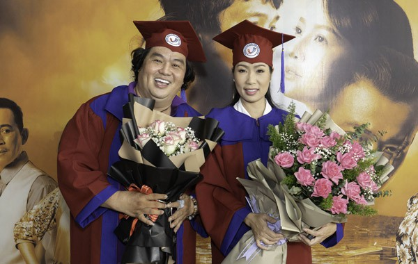 Á hậu Trịnh Kim Chi tốt nghiệp Cử nhân Đại học Sân khấu - Điện ảnh ở tuổi 49 - ảnh 3