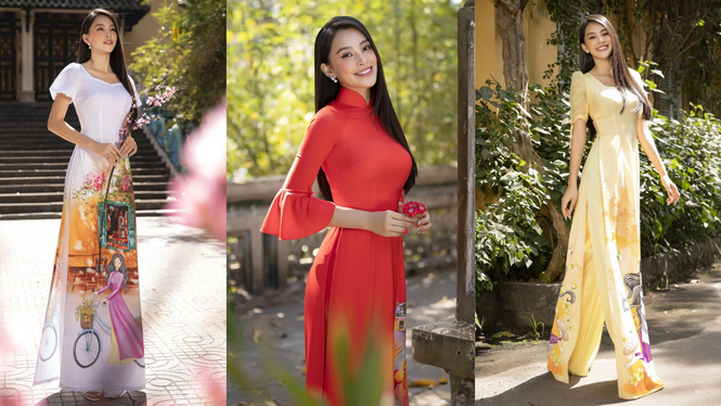 Hoa hậu Tiểu Vy, Đỗ Mỹ Linh mặc đẹp 'phủ sóng' mạng xã hội tuần qua - ảnh 1