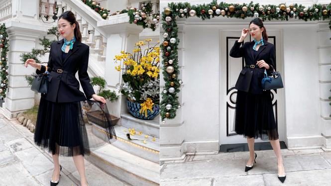 Hoa hậu Tiểu Vy, Đỗ Mỹ Linh mặc đẹp 'phủ sóng' mạng xã hội tuần qua - ảnh 6