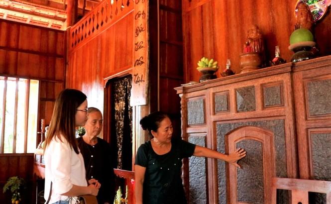 Độc đáo căn nhà xưa Nam bộ làm hoàn toàn bằng gỗ dừa - ảnh 6