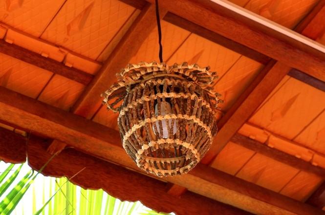 Độc đáo căn nhà xưa Nam bộ làm hoàn toàn bằng gỗ dừa - ảnh 9