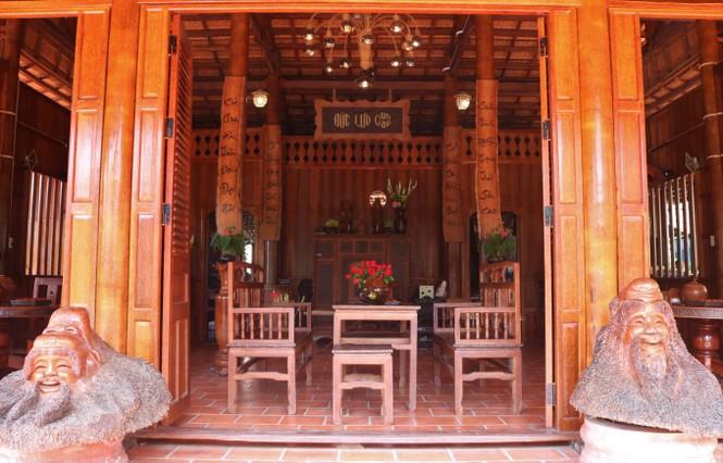Độc đáo căn nhà xưa Nam bộ làm hoàn toàn bằng gỗ dừa - ảnh 3