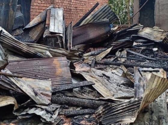 Cháy nhà lúc rạng sáng, cụ bà 86 tuổi tử vong - ảnh 1