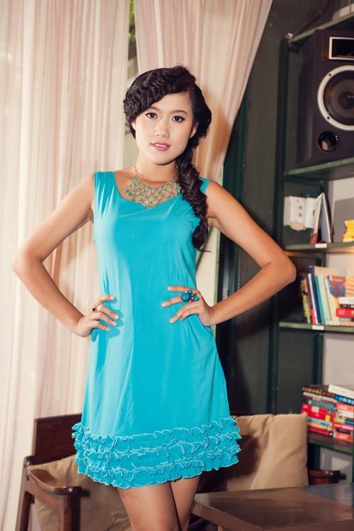 Người đẹp Tây Đô Kim Ngọc khoe chân dài nuột nà - ảnh 5