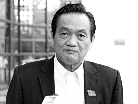 ĐBQH Trần Du Lịch             Ảnh: Bình Minh