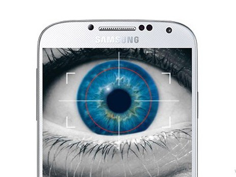 Galaxy S5 hỗ trợ cảm biến quét từ ánh mắt