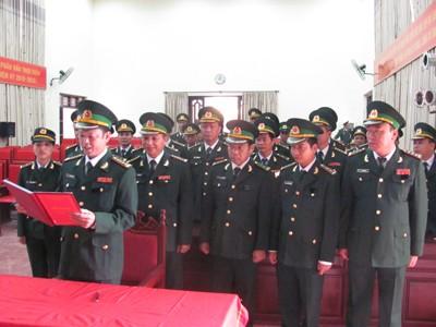 -Cán bộ, chiến sỹ Biên phòng Lạng Sơn quyết tâm giữ vững chủ quyền an ninh biên giới.             Ảnh: Duy Chiến