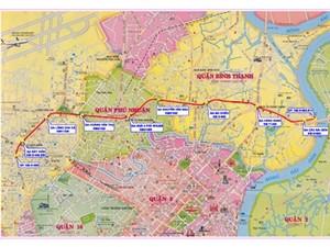 Dự án tuyến metro số 5 giai đoạn một. (Nguồn: brc.com.vn)