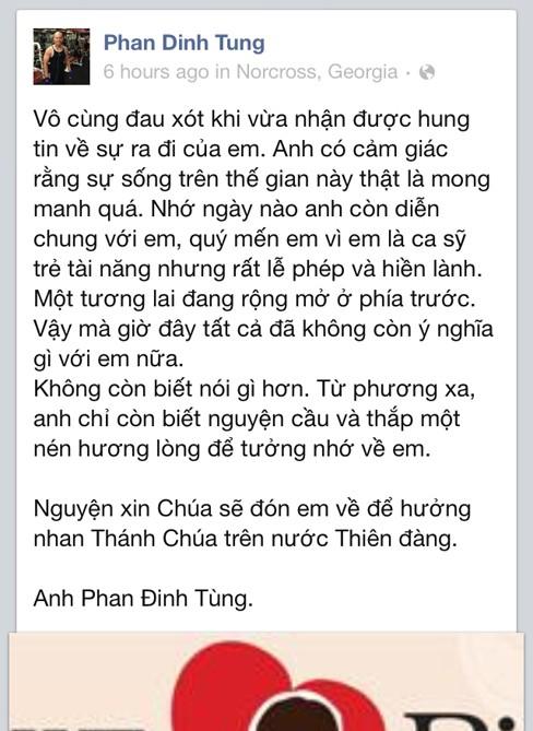 Ca sĩ Phan Đinh Tùng