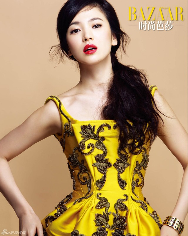 Song Hye Kyo quyến rũ, thanh lịch - ảnh 1