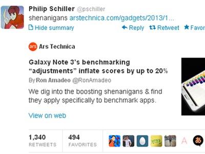 Phó chủ tịch Apple 'ném đá' Samsung - ảnh 1