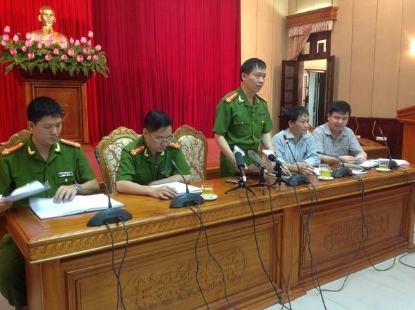 Cơ quan công an cho biết đã bắt khẩn cấp chủ Thẩm mỹ viện Cát Tường. Ảnh: Lê Dương