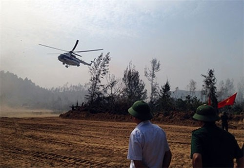 Ngày 9/10, Đoàn công tác Bộ Quốc phòng và Quân khu 4 do Trung tướng Nguyễn Quốc Khánh, Phó tổng Tham mưu trưởng Quân đội Nhân dân Việt Nam dẫn đầu đã đến khu vực Vũng Chùa - Đảo Yến kiểm tra công tác chuẩn bị tại vị trí an táng thi hài Đại tướng Võ Nguyên Giáp