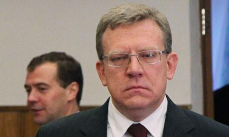 Phó thủ tướng kiêm Bộ trưởng tài chính Nga, ông Alexei Kudrin. Ảnh: Getty Images.