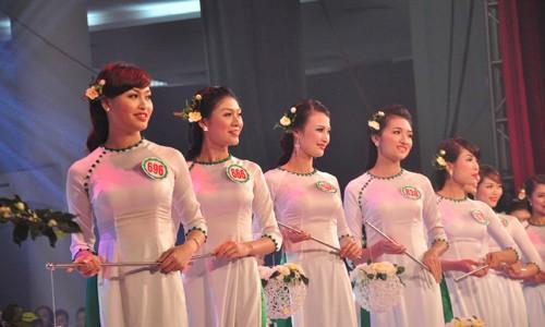 Hình ảnh đêm chung kết 'Người đẹp xứ Trà' 2013 - ảnh 1