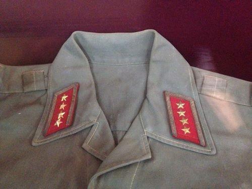 Bộ Quân phục Đại tướng Võ Nguyên Giáp đã sử dụng trong các ngày lễ của đất nước