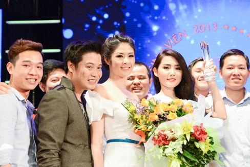 Hoa hậu Ngọc Hân xinh đẹp, gợi cảm làm giám khảo - ảnh 6