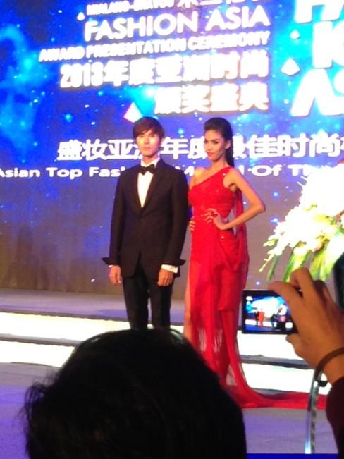 Lan Khuê vào top 5 Người mẫu thời trang châu Á - ảnh 3