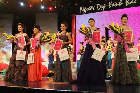 Top 5 người đẹp nhất đêm chung kết Người đẹp Kinh Bắc