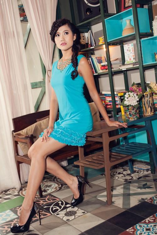 Người đẹp Tây Đô Kim Ngọc khoe chân dài nuột nà - ảnh 6