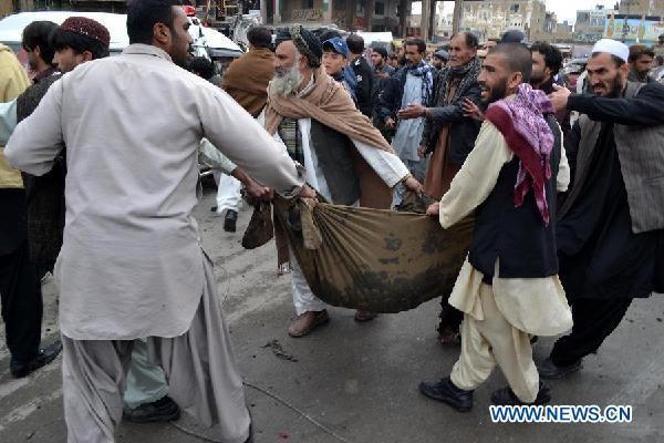 Đánh bom ở Pakistan, 115 người thiệt mạng - ảnh 1