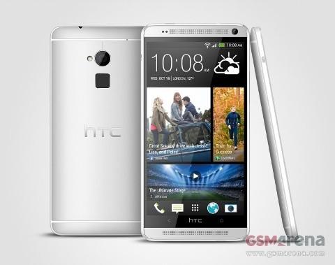 HTC One Max xuất trận cùng cảm biến vân tay - ảnh 1