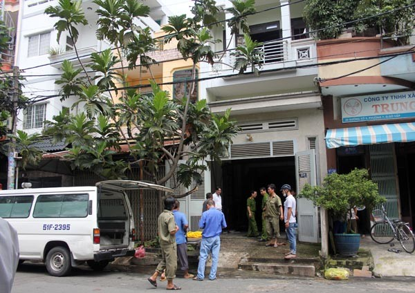 Căn nhà cuối cùng ông Linh bị buộc phải giao cho vợ cũng là nơi ông tưới xăng tự thiêu. Ảnh: Châu Thành