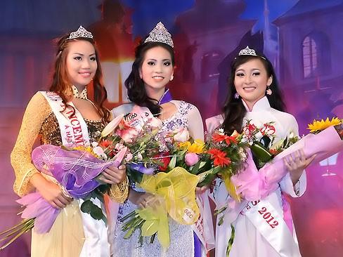 Thùy Linh đăng quang Hoa hậu người Việt tại Séc - ảnh 1