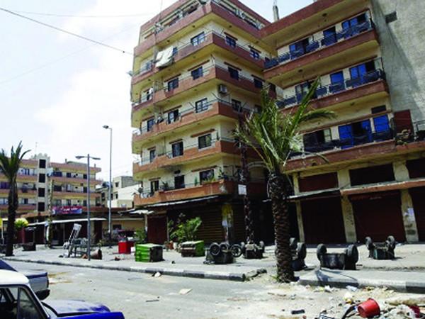 Một trong những đô thị ở Syria bị tàn phá. Ảnh: Ria-Novosti