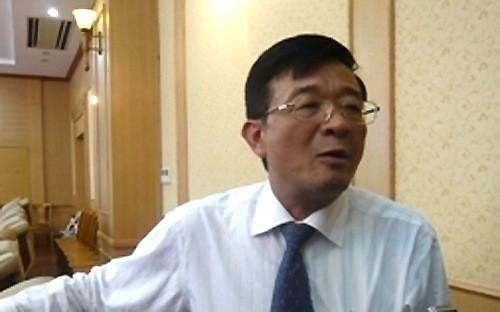 Ông Nguyễn Quốc Hùng, Phó chủ tịch công ty Quản lý tài sản của các tổ chức tín dụng Việt Nam (VAMC)